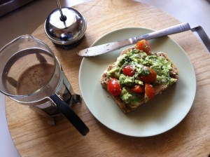 GUACAMOLE AND FILTER COFFEE