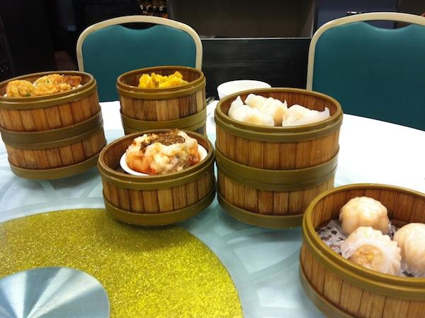 Minh Tan 2 Yum Cha on table