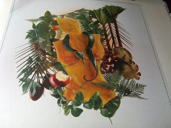 John Street fruit on glass table