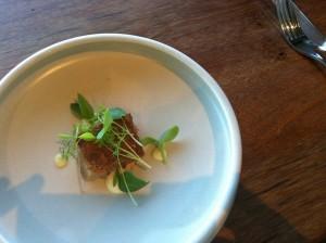 LOAM Pork jowl sunrose salted lemon