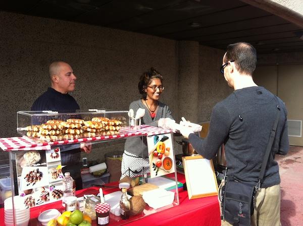 Waffle Jolie stall