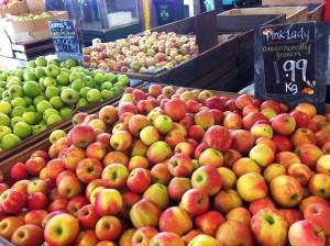 Dandenong Market Apple Stall