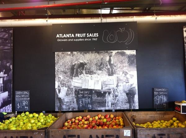 Dandenong Market Atlanta stall
