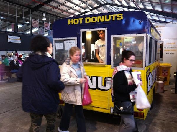 Dandenong Market Donut stall