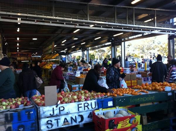 Dandenong Market stall shot