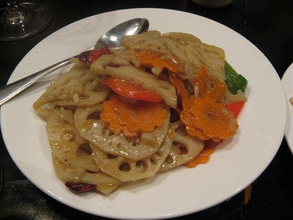Sweet and Sour Lotus root Black Sesame Beijing