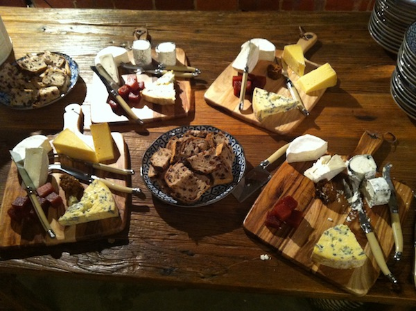 Brown Brothers Milawa Cheese platters