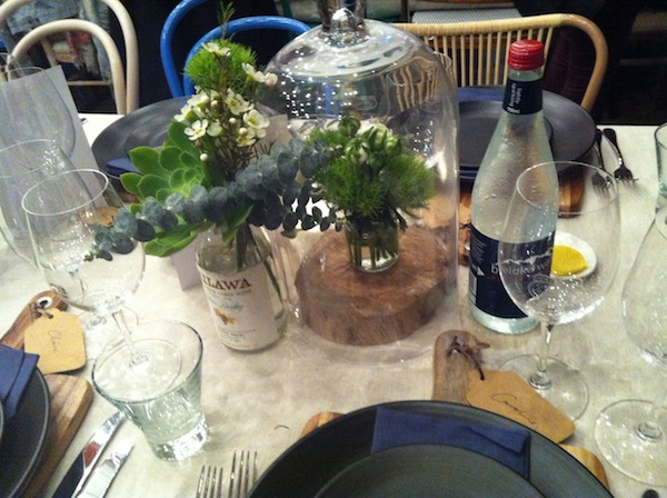 Brown Brothers table setting 2