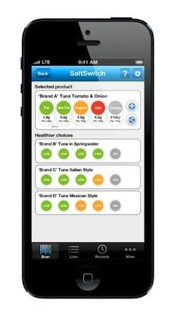 Bupa FoodSwitch_App