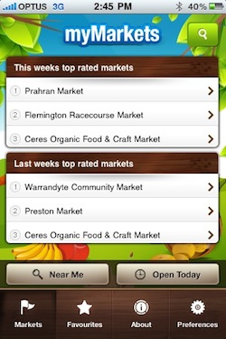 mymarkets guide app