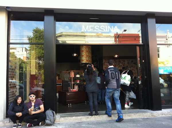 GELATO MESSINA ENTRANCE