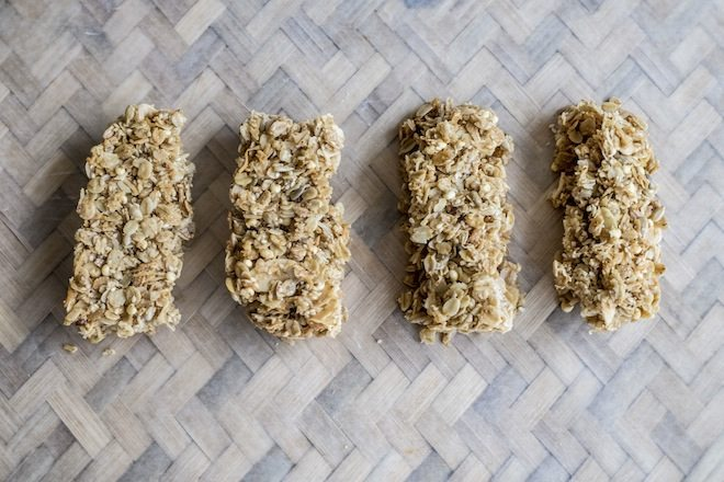 Muesli Bars row