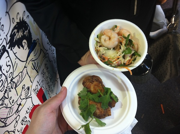 TASTE OF MELBOURNE CHIN CHIN CHICKEN WINGS AND TOM YUM POACHED PRAWNS