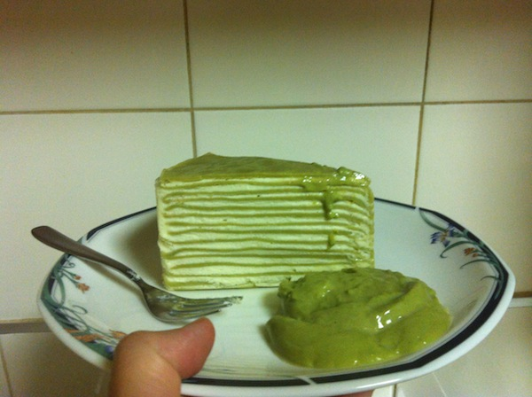 Jinda Thai Green Tea Crepe Cake