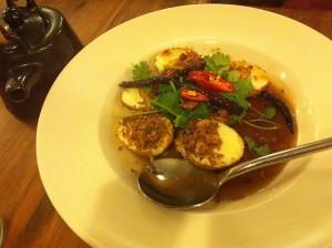 Jinda Thai Son in Law eggs