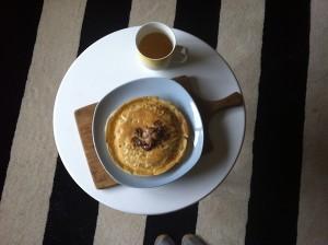 Decisive Cravings Pancake Recipe served