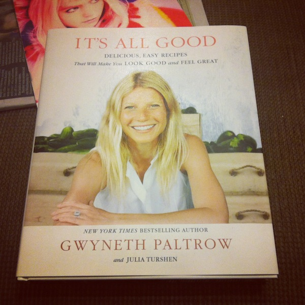 Its All Good by G Paltrow Raw and Vegan Eating