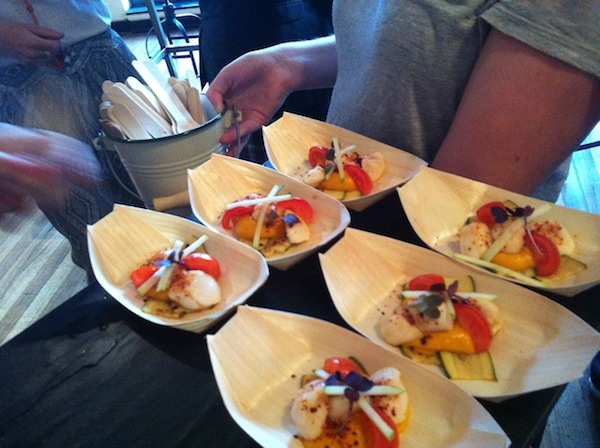 Joes Bar StKilda Taste of the South Scallop Ceviche