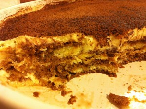 Decisive Cravings Tiramisu inside slice
