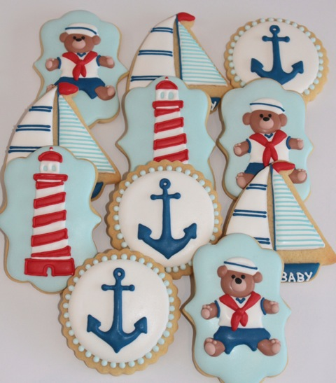 Decisive Cravings and Miss Biscuit Bear Lighthouse and Boat