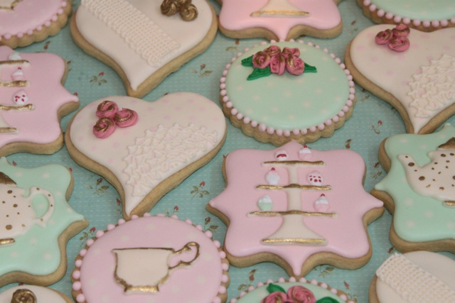 Decisive Cravings and Miss Biscuit rose tea party