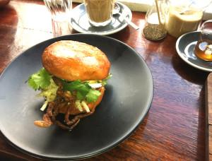 Hammer and Tong soft shell crab burger edited