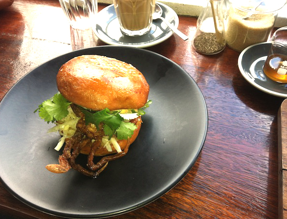 Hammer and Tong soft shell crab burger edited