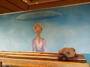 Mulia Bali Spa mural