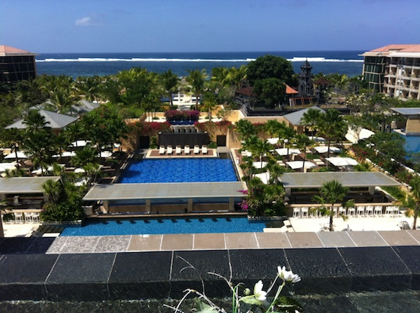 Mulia Bali upstairs view