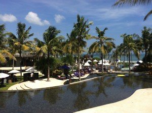 The W Seminyak pool view