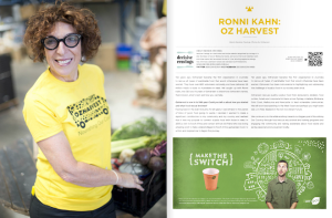 DecisiveCravings Press Images - Issue 45 OzHarvest Profile