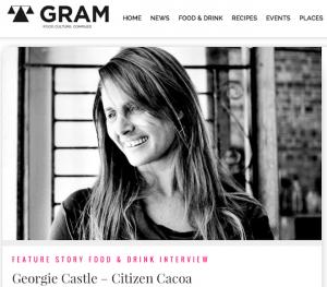 Georgie Castle Citizen Cacao feature GRAM Magazine Issue 55 September 2015