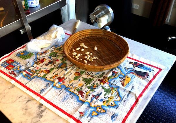 Malloreddus - traditional Sardinian style gnocchi