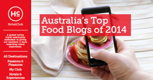 HOTEL CLUB TOP 30 FOOD BLOGS 2014 - TITLE PAGE