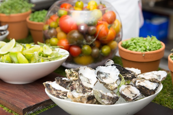 MCEC Oysters and Tomatoes