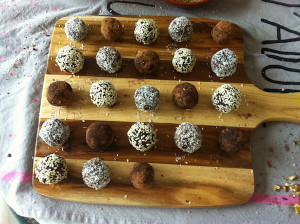 Raw date and coconut truffles final
