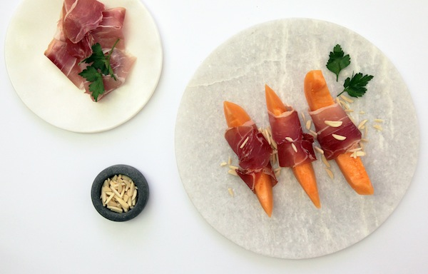 Picnicking in Melbourne cantaloupe prosciutto recipe