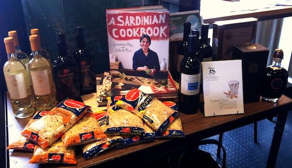 Sardinian table at Enoteca Sileno final