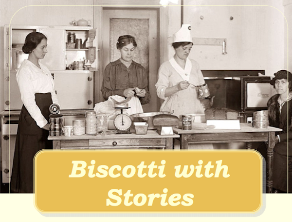 Biscotti with Stories