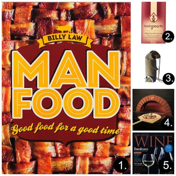 Fathers Day Gift Guide 2014 with numbers Collage in post