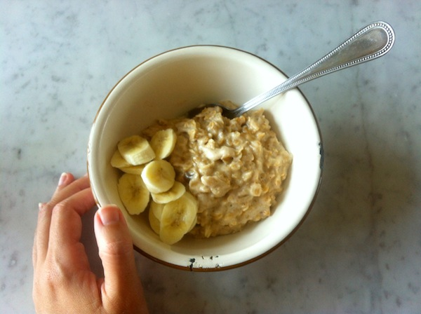 Coconut Porridge recipe with bananas