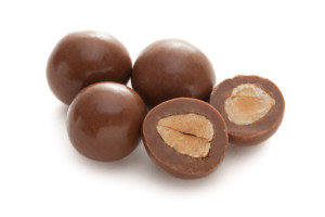 Haighs milk coated hazelnuts