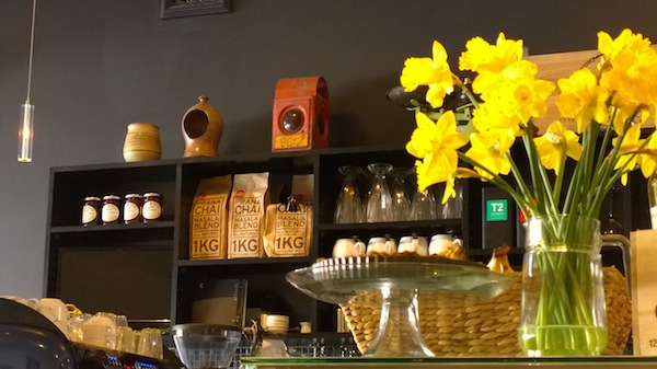 Le Jolie Cafe counter sepia edited