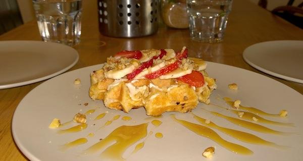 Le Jolie Cafe famous waffles
