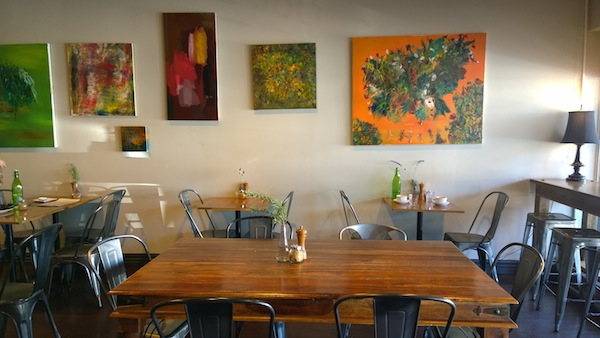 Le Jolie Cafe paintings