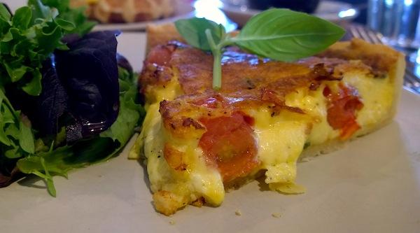 Le Jolie Cafe savoury tart
