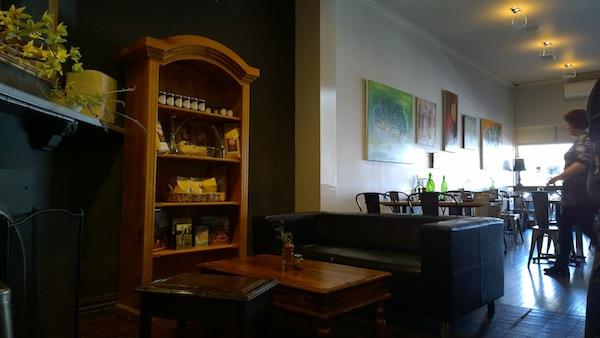 Le Jolie Cafe quiet corner