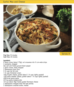 Mac n Cheese by Curtis Stone Ingredients final