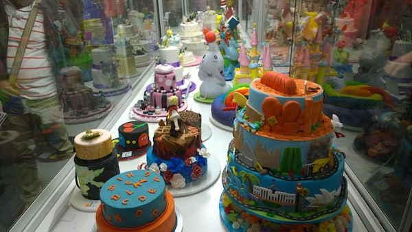 Royal Melb Show Cake Hall toy cakes