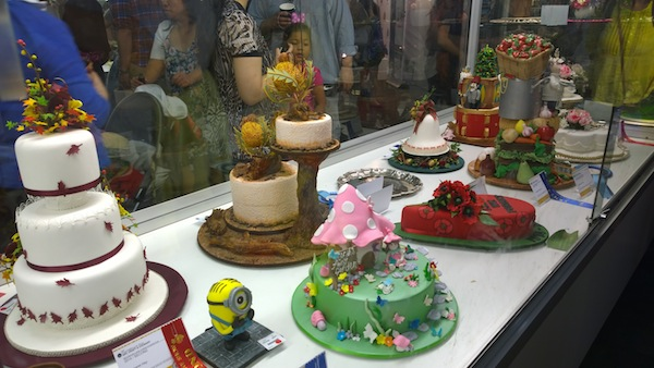 Royal Melb Show Cake Hall up close